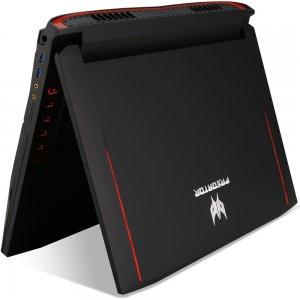 Ноутбук Acer Predator G9-793-72QZ Core i7 7700HQ/32Gb/2Tb/SSD512Gb/DVD-RW/nVidia GeForce GTX 1070 8Gb/17.3\/IPS/UHD (3840x2160)/Windows 10 Home/black/WiFi/BT/Cam/6000mAh