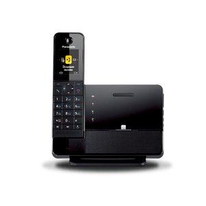 Р/Телефон Dect Panasonic KX-PRL260RUB черный автооветчик АОН