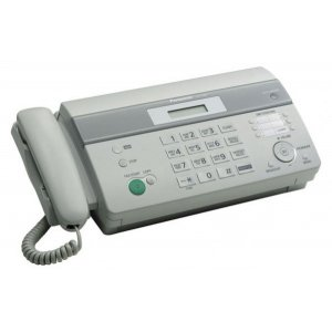 Факс Panasonic KX-FT982RU-W белый печ.:на термобумаге АОН