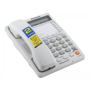 Телефон проводной Panasonic KX-TS2368RUW белый