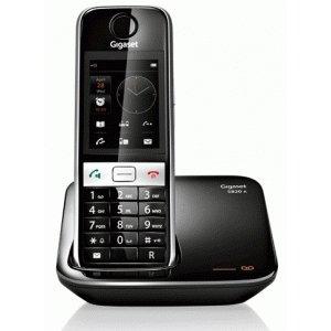 Р/Телефон Dect Gigaset S820A черный/серебристый автооветчик