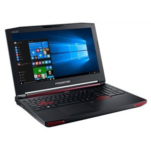 Ноутбук Acer Predator G9-593-797Q Core i7 7700HQ/24Gb/1Tb/SSD256Gb/DVD-RW/nVidia GeForce GTX 1070 8Gb/15.6\/IPS/FHD (1920x1080)/Windows 10/black/WiFi/BT/Cam/6000mAh