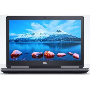 Ноутбук Dell Precision 7720 Core i7 6820HQ/16Gb/2Tb/SSD256Gb/nVidia Quadro M1200M 4Gb/17.3\/IPS/FHD (1920x1080)/Windows 7 Professional 64 +W10Pro/black/WiFi/BT/Cam