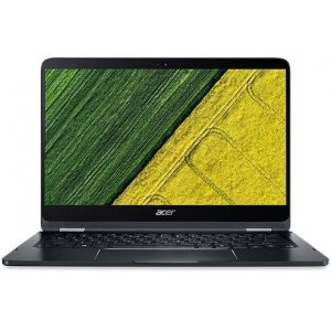 Трансформер Acer Spin 7 SP714-51-M0RP Core i7 7Y75/8Gb/SSD512Gb/Intel HD Graphics 615/14\/IPS/Touch/FHD (1920x1080)/Windows 10/black/WiFi/BT/Cam/2770mAh