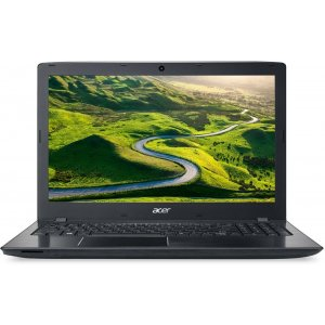 Ноутбук Acer Aspire E5-575G-51JY Core i5 7200U/8Gb/1Tb/DVD-RW/nVidia GeForce GTX 950M 2Gb/15.6\/FHD (1920x1080)/Linux/black/WiFi/BT/Cam/2800mAh