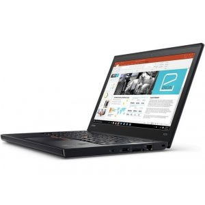 Ноутбук Lenovo ThinkPad X270 Core i7 7500U/8Gb/SSD256Gb/Intel HD Graphics 620/12.5\/IPS/FHD (1920x1080)/Windows 10 Professional 64/black/WiFi/BT/Cam