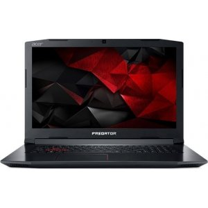 Ноутбук Acer Predator Helios 300 PH317-51-7717 Core i7 7700HQ/8Gb/1Tb/nVidia GeForce GTX 1050 Ti 4Gb/17.3\/IPS/FHD (1920x1080)/Windows 10/black/WiFi/BT/Cam
