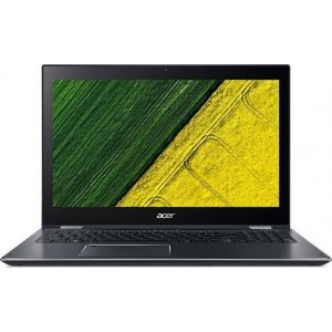 Трансформер Acer Spin 5 SP513-52N-58QS Core i5 8250U/8Gb/SSD256Gb/Intel HD Graphics 620/13.3\/IPS/Touch/FHD (1920x1080)/Windows 10/dk.grey/WiFi/BT/Cam/4670mAh