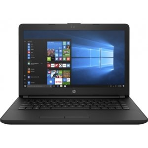 Ноутбук HP 14-bs024ur Core i5 7200U/6Gb/1Tb/DVD-RW/AMD Radeon 520 4Gb/14\/SVA/HD (1366x768)/Windows 10 64/black/WiFi/BT/Cam/2850mAh