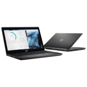 Ноутбук Dell Latitude 5280 Core i3 7100U/4Gb/500Gb/Intel HD Graphics 620/12.5\/HD (1366x768)/Linux/black/WiFi/BT/Cam