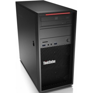 ПК Lenovo ThinkStation P320 MT i7 7700 (3.6)/8Gb/SSD256Gb/HDG630/DVDRW/CR/Windows 10 Professional 64/GbitEth/250W/клавиатура/мышь/черный