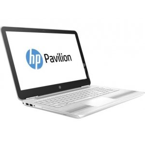 Ноутбук HP Pavilion 15-au125ur Core i3 7100U/4Gb/1Tb/DVD-RW/Intel HD Graphics 620/15.6\/HD (1366x768)/Windows 10 64/white/WiFi/BT/Cam