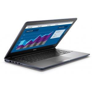Ноутбук Dell Vostro 5468 Core i3 6006U/4Gb/500Gb/Intel HD Graphics 520/14\/HD (1366x768)/Windows 10 Home 64/blue/WiFi/BT/Cam