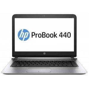 Ноутбук HP ProBook 440 G4 Core i3 7100U/4Gb/500Gb/Intel HD Graphics 620/14\/SVA/HD (1366x768)/Free DOS 2.0/silver/WiFi/BT/Cam