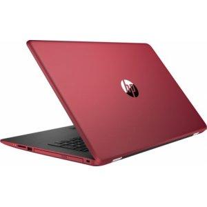 Ноутбук HP 17-ak043ur A6 9220/4Gb/500Gb/DVD-RW/AMD Radeon 520 2Gb/17.3\/HD+ (1600x900)/Windows 10 64/red/WiFi/BT/Cam
