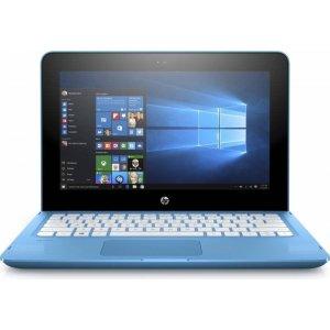 Трансформер HP Stream x360 11-aa000ur Celeron N3050/2Gb/SSD32Gb/Intel HD Graphics/11.6\/IPS/Touch/HD (1366x768)/Windows 10 64/lt.blue/WiFi/BT/Cam