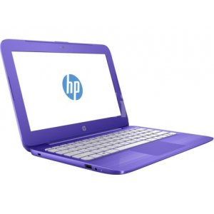 Ноутбук HP Stream 14-ax001ur Celeron N3050/2Gb/SSD32Gb/Intel HD Graphics/14\/HD (1366x768)/Windows 10 64/violet/WiFi/BT/Cam