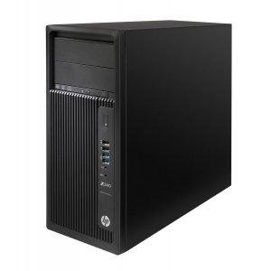 ПК HP Z240 MT i7 6700K (4)/8Gb/1Tb 7.2k/HDG530/DVDRW/Windows 10 Professional 64/GbitEth/400W/клавиатура/мышь/черный