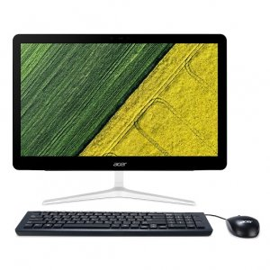 Моноблок Acer Aspire Z24-880 23.8\ Full HD i5 7400T (2.4)/8Gb/1Tb/GF940MX 2Gb/DVDRW/Windows 10/GbitEth/WiFi/BT/135W/клавиатура/мышь/Cam/черный 1920x1080