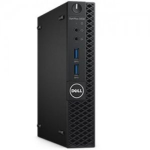 ПК Dell Optiplex 3050 SFF i5 6500 (3.2)/4Gb/500Gb 7.2k/HDG530/DVDRW/Windows 7 Professional +W10Pro/Eth/180W/клавиатура/мышь/черный