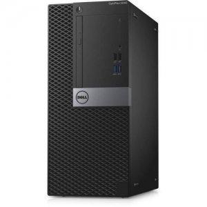 ПК Dell Optiplex 5040 MT i5 6500 (3.2)/4Gb/500Gb 7.2k/HDG530/DVDRW/Linux/GbitEth/240W/клавиатура/мышь/черный/серебристый