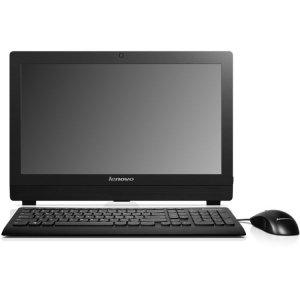 Моноблок Lenovo S200z 19.5\ HD+ Cel J3060 (1.6)/2Gb/500Gb 7.2k/HDG400/DVDRW/CR/noOS/GbitEth/WiFi/BT/клавиатура/мышь/Cam/белый 1600x900
